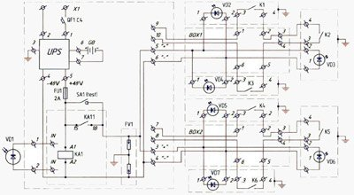 Газ-2705 электрическая схема