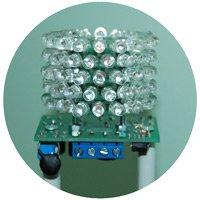 Светотехнические характеристики заградительного огня ЗОМ-80LED
